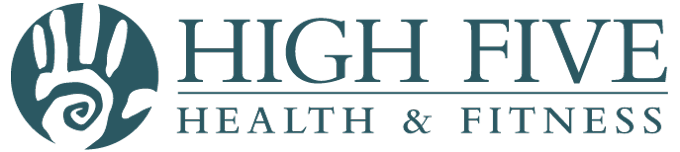 High Five Health & Fitness Retina Logo