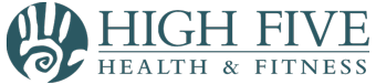 High Five Health & Fitness Sticky Logo